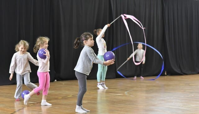 Gymnastique rythmique et sportive