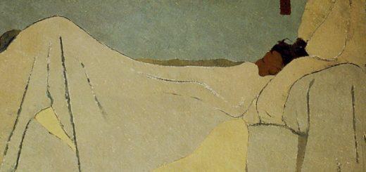 Variations sur l'art, 7 Vuillard, 1891, Au lit