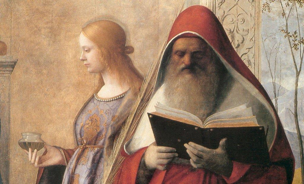 2 Bellini, 1505, Retable de San Zaccaria (Détail)