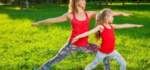 yoga parents enfants