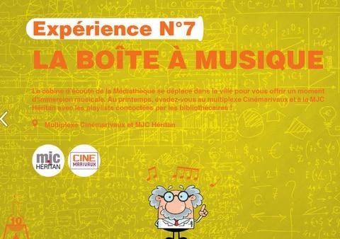 Expérience Médiathèque - la boite à musique - blog - heritan