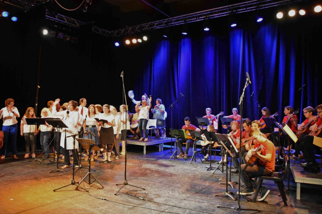 MJC - spectacle chant-guitare du 8 juin 2018