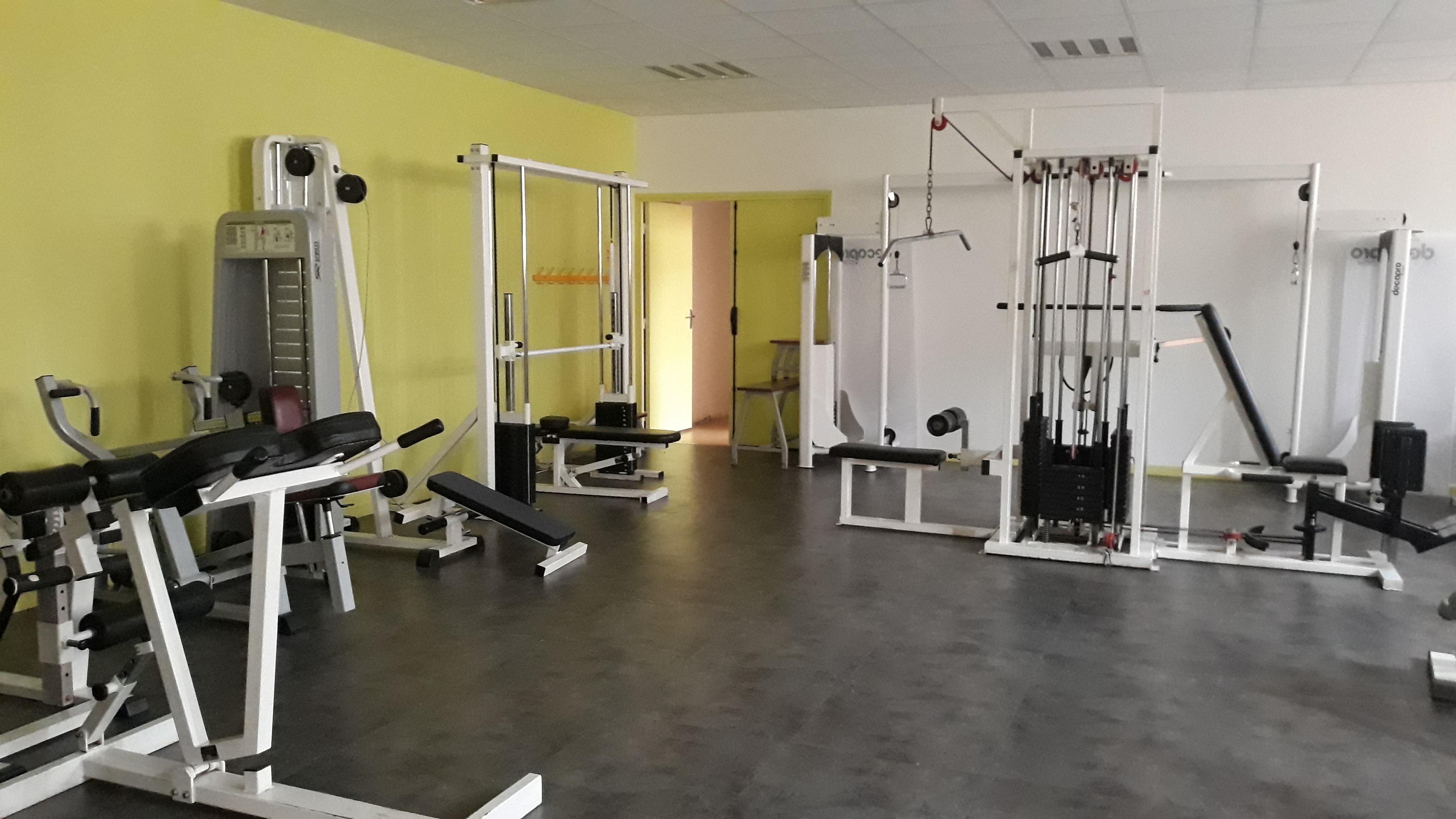 salle de musculation de la MJC Héritan
