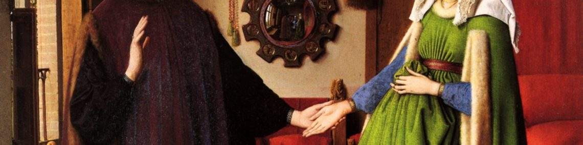 Peinture Les-époux-Arnolfini de Jan van Eyck