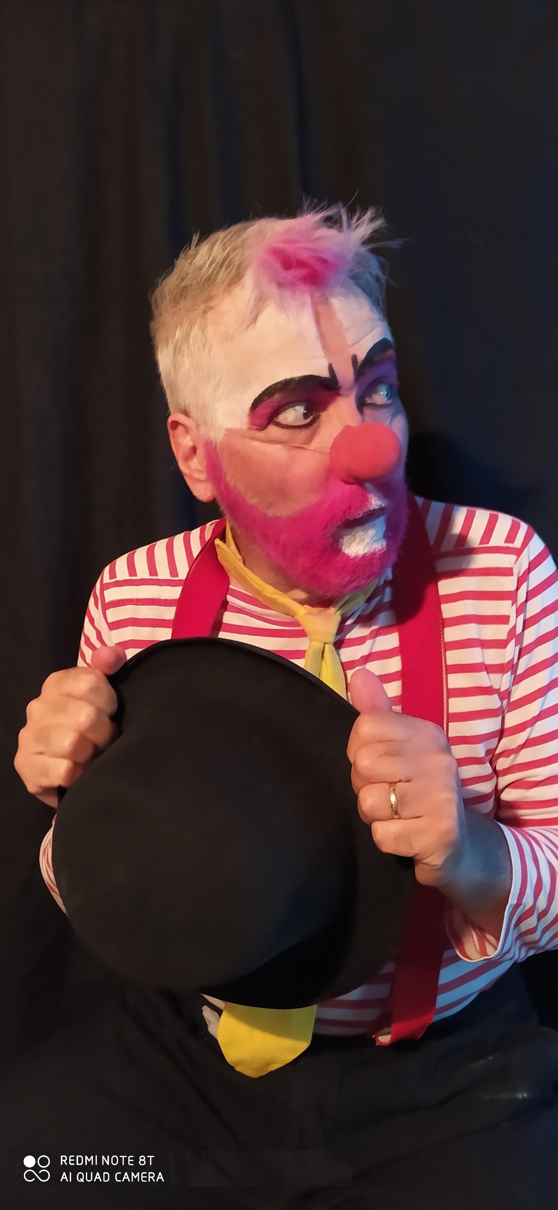 Jean Jacques NONOT en clown
